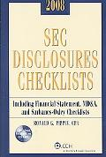 SEC Disclosures Checklists