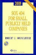 SOX 404 for Small, Publicly Held Companies 2009