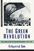 Green Revolution The American Environmental Movement, 1962-199