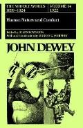 John Dewey The Middle Works, 1899-1924