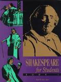 Shakespeare for Students Critical Interpretations of As You Like It, Hamlet, Julius Caesar, ...