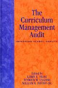 Curriculum Management Audit Improving School Quality