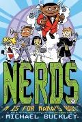 NERDS: Book Two: M Is for Mama's Boy (Nerds: National Espionage, Rescue, and Defense Society)