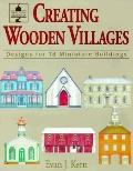 Creating Wooden Villages Designs for 18 Miniature Buildings