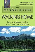 Barefoot Sisters Walking Home