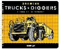 Drawing Trucks and Diggers A Book of 10 Stencils
