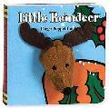 Little Reindeer Finger Puppet Book