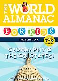 The World Almanac for Kids Puzzler Deck Geography