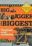 Big Bigger Biggest Trucks and Diggers - With DVD (Caterpillar)