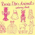 Rosie Flo's Animals Coloring Book