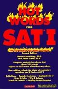 Hot Words for the Sat I The 350 Words You Need to Know