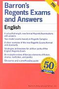 Barron's Regents Exams and Answers Comprehensive English, 3 and 4 Years
