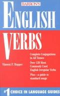 Barron's English Verbs