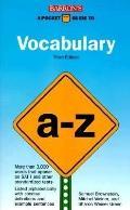 Pocket Guide to Vocabulary