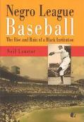 Negro League Baseball The Rise and Ruin of a Black Institution