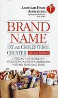 Brand Name Fat and Cholesterol Counter
