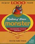 Random House Monster Crossword Puzzle Omnibus