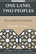One Land, Two Peoples: The Conflict over Palestine, Vol. 2