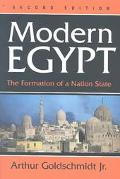 Modern Egypt The Formation of a Nation-State