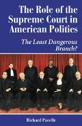 Role of the Supreme Court in American Politics The Least Dangerous Branch?