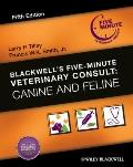 Blackwell's Five-Minute Veterinary Consult : Canine and Feline