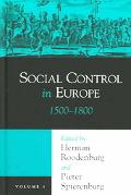 Social Control In Europe 1500-1800