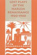 Lost Plays of the Harlem Renaissance 1920-1940