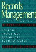 Records Management: A Practical Approach