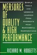 Measures of Quality+high Performance