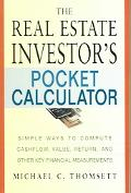 Real Estate Investor's Pocket Calculator Simple Ways to Compute Cashflow, Value, Return, and...