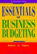 Essentials of Business Budgeting - Robert G. Finney - Paperback