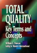 Total Quality: Key Terms and Concepts - Luftig & Warren Associates International - Paperback