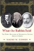 What the Rabbis Said