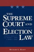 Supreme Court And Election Law Judging Equality From Baker V. Carr To Bush V. Gore