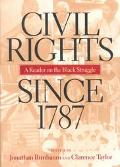 Civil Rights Since 1787 A Reader
