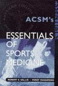 Essentials of Sports Medicine
