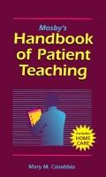 Mosby's Handbook of Patient Teaching