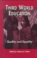 Third World Education Quality and Equality