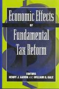 Economic Effects of Fundamental Tax Reform