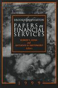 Brookings Wharton Papers on Financial Services, 1999