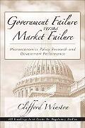 Government Failure Versus Market Failure Microeconomic Policy Research And Government Perfor...