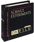 Science Experiments on File Experiments, Demonstrations, and Projects for School and Home  R...