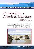 Contemporary American Literature (1945-Present)