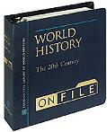 World History on File The 20th Century