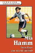 Mia Hamm Soccer Player
