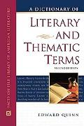 Dictionary of Literary and Thematic Terms