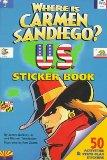 Where is Carmen Sandiego U.S. Sticker Book