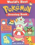 World's Best Pokemon Drawing Book