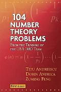 104 Number Theory Problems From the Training of the USA IMO Team
