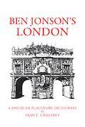 Ben Jonson's London